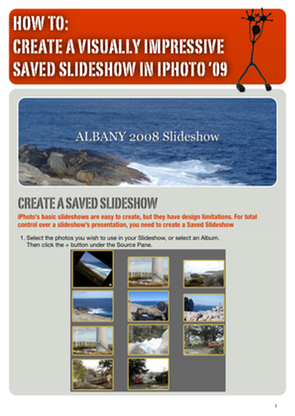 Create A Visually Impressive Saved Slideshow In iPhoto'09